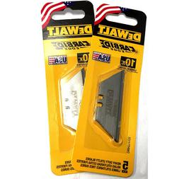 10-Pack DeWalt Carbide Edge Utility Knife Blade