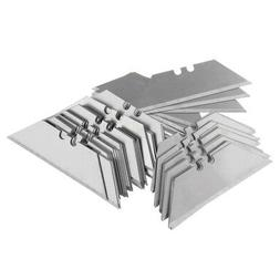 100 Pcs Steel Standard Utility Knife Blades Cutter Razor Rep