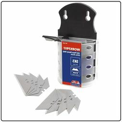100 Pk Utility Knife Replacement Razor Blades Dispenser SK5