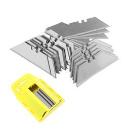100pcs Utility Knife Blade Cutter Razor Cut Steel Standard G
