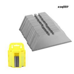 100x Utility Knife Knives Blade Cutter Razor Steel  Snap-off