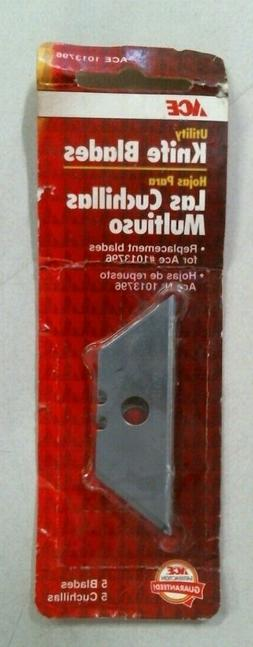 Ace 1013796, Utility Knife Blades, Package Contains 5 Blades