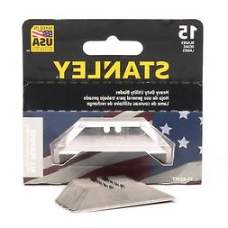 Stanley 15-Pack Carbon Steel Utility Knife Replacement Blade
