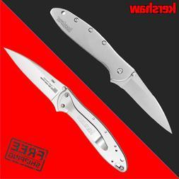 Kershaw Leek Pocket Knife  3-In. Sandvik 14C28N Blade and St