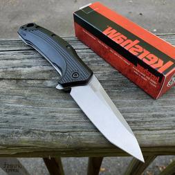 Kershaw Link Tanto Folding Pocket Knife  with SpeedSafe Assi