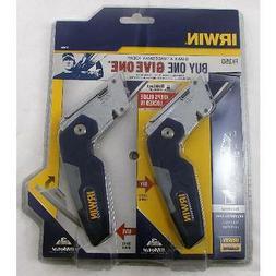IRWIN VISE-GRIP 2 Packs FK150 FOLDING UTILITY KNIFE