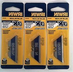 Irwin Industrial 2084100 5 Pack Bi-Metal BLUE BLADE Utility