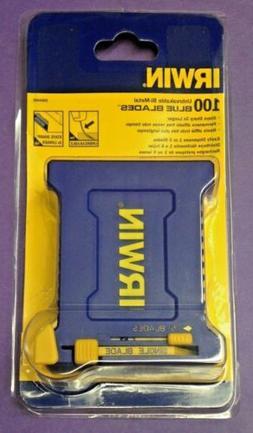 Irwin 2084400 Bi-Metal BLUE BLADE Utility Knfe