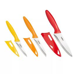 ZYLISS 3 Piece Paring Knife Set with Sheath Covers