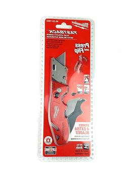 Milwaukee 48-22-1903 Fastback Flip Utility Knife With Blade