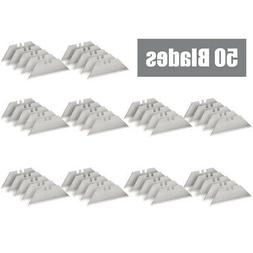 50 Replacement Utility Knife Blades SK5 Steel Standard Unive