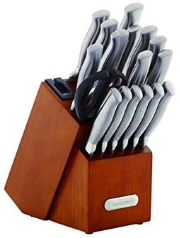 Farberware 5190024 18-Piece Forged Stainless Steel Knife Set