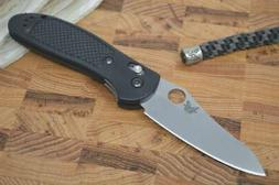 Benchmade 550-S30V Griptilian - Satin Blade / Black Handle