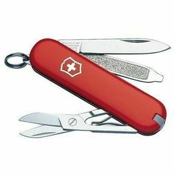 Victorinox 56011 Classic Swiss Army Knife, Red