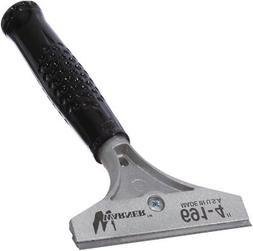 """Warner 4"""" Big Blade Scraper, 5"""" Steel Handle, 691"""