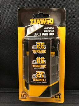 DeWalt 75 Heavy-Duty Utility Knife Blades DWHT11004 BRAND NE