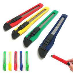 8 Utility Knife Box Cutter Retractable Snap Off Lock Blade T