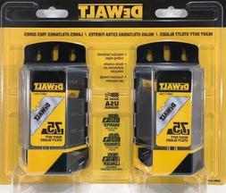 Dewalt heavy-duty utility blades 150 qty