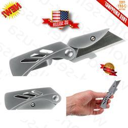 Folding Utility Pocket Knife, Cutting Razor Blade Tool, Box