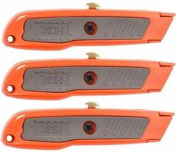 HDX  3-packs utility knife set new in package  - #6X.13