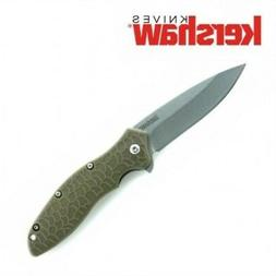 KERSHAW - OSO SWEET Olive Green Spring Assisted SPEEDSAFE op