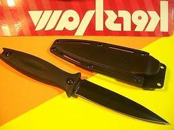 KERSHAW - Secret Agent BOOT KNIFE fixed blade w/ sheath hiki