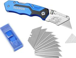 KOBALT Lockback Quick Change Blade Folding Utility Knife Box