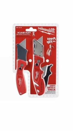 MILWAUKEE-48-22-1909 2-Piece FASTBACK™ Flip Utility Knife