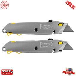 NEW 2-PACK! Stanley 10-499 QuickChange™ Retractable Blade