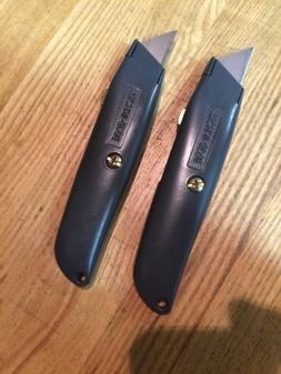 Retractable Utility Knife w/ Blade Box Cutter USA Made HD 2