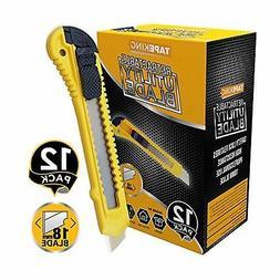 Utility Knife Box Cutters 12 Pack Bulk 18Mm Wide Blade Cutte