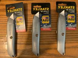 Stanley Blade Utility Knife ~ 3 Pack ~ New Classic 99 Retrac