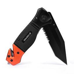 BladeMate Tactical Folding Knife: Survival Rescue Pocket Kni