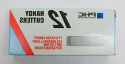 Box of 12x PHC Retractable Utility Knife Carton Box Handy Cu