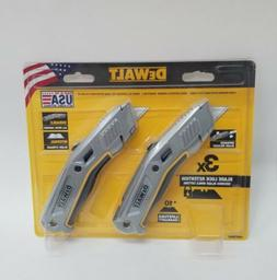 BRAND NEW - DeWalt Retractable Knife Blade - Made in USA 2 P