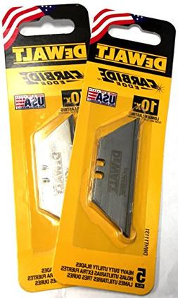 DeWalt Carbide Edge Utility Knife Blade - Last 10x Longer