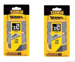 2 pack Dewalt Carbide Utility Knife Blades 50-Pack DWHT11131