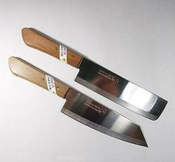 Chef's Kitchen Knife Cook Utility Knives Set 2 KIWI Cutlery