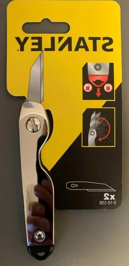 Chrome Stanley 0-10-598 U.K. Utility folding knife as used b