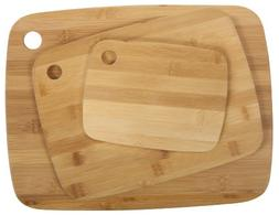 Core Bamboo Classic Cutting Board Combo Pack, Natural, Small