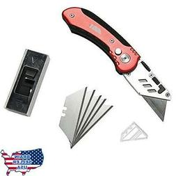 Fatmingo DN029 Folding Pocket Knife with Clip Heavy Duty Uti