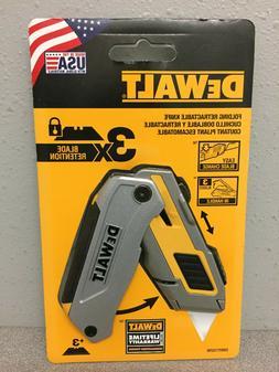 NEW DWHT10296 DeWalt Folding Retractable Blade 6-3/8 in. L U
