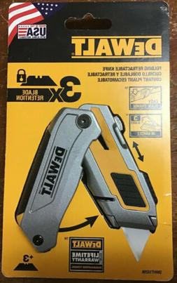 DEWALT DWHT10296 Premium Folding Retractable Utility Knife N