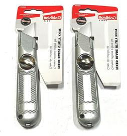 Goldblatt Fixed Blade Utility Knife Box Cutter 2 Pack G05405