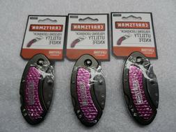 Craftsman Folding Lockback Utility Knife Set  - p/n 38001
