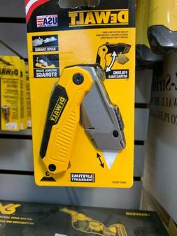 Folding Utility Knife Lock Back Retractable Blade DeWalt Box