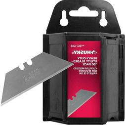 Husky Heavy-Duty Utility Blades 100 pack w/Dispenser made in