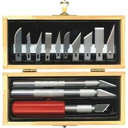 Techni Edge 01-801 Hobby Knife and Blade Kit