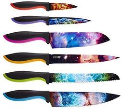 Cosmos Kitchen Knife Set in Gift Box - Unique Gifts For Men