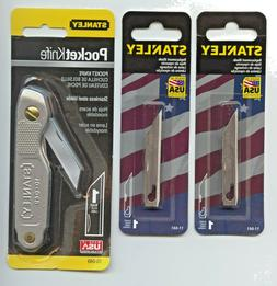 stanley knife 10-049 with 2 extra 11-041 blades   FREE SHIPP